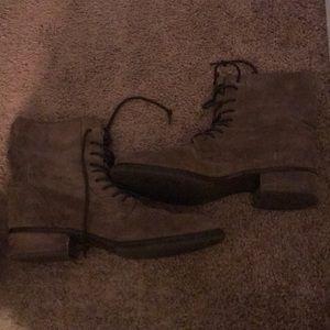 Barely worn Sam Edelman leather boots